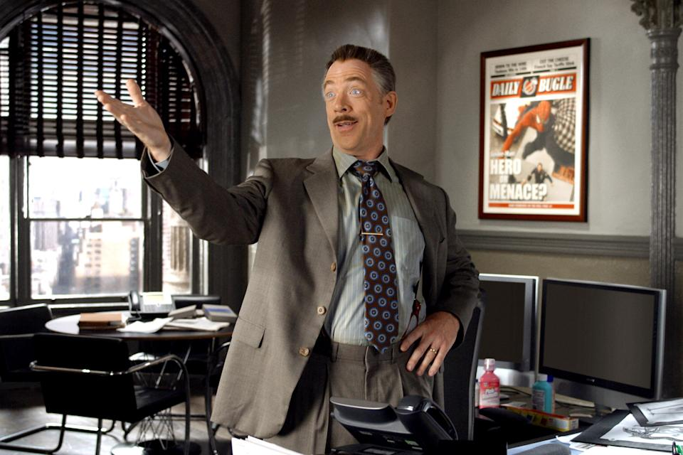 J.K. Simmons reprises his 'Spider-Man 2' role as J. Jonah Jameson in 'Spider-Man: Far From Home' (Photo: Columbia/courtesy Everett Collection)