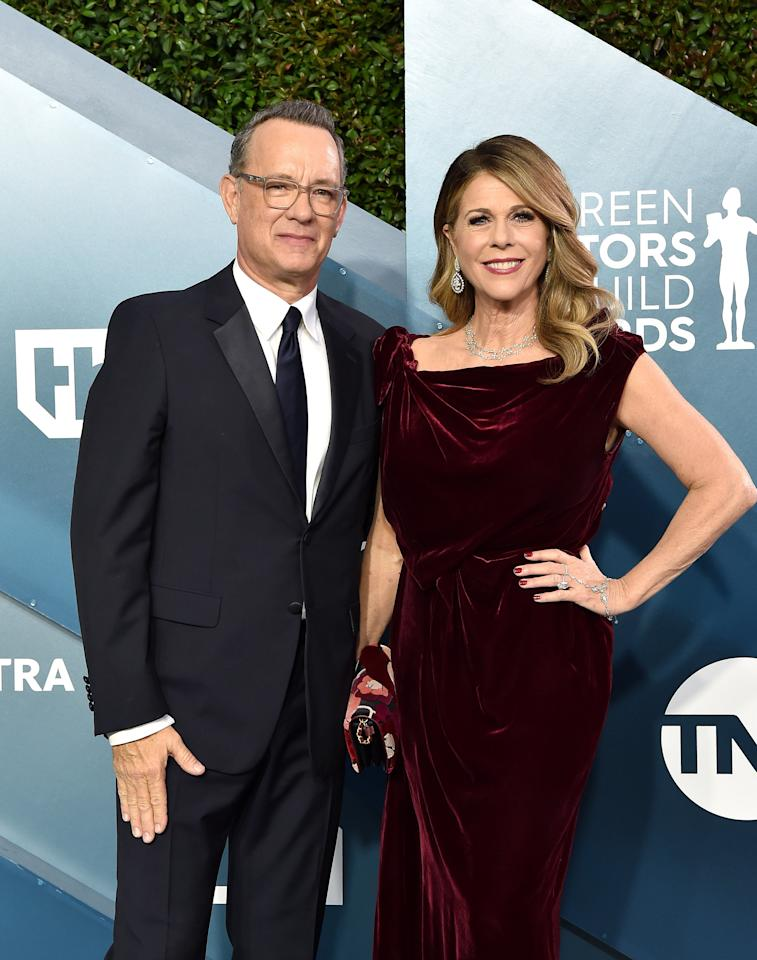 """<p><a href=""""https://www.instyle.com/news/tom-hanks-rita-wilson-coronavirus"""">Tom Hanks and Rita Wilson</a> were the first public figures to announce they had tested positive for the virus, though thankfully both have <a href=""""https://people.com/movies/tom-hanks-rita-wilson-have-left-hospital-in-australia-5-days-after-revealing-coronavirus-diagnoses/"""" target=""""_blank"""">reportedly left the hospital</a> they were quarantined in. </p>"""