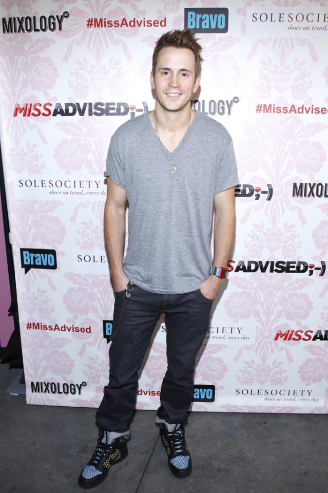 """Robert Hoffman attends the viewing party for Bravo's new series """"Miss Advised"""" at the Planet Dailies & Mixology 101 on June 18, 2012 in Los Angeles, California."""