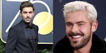 "<p>Zac Efron decided to shake things up for the new year and showed off a MUCH lighter color at Sundance for the screening of his new film, <em><a href=""https://www.youtube.com/watch?v=-lW6Z38HHJw"" rel=""nofollow noopener"" target=""_blank"" data-ylk=""slk:Extremely Wicked, Shockingly Evil, and Vile"" class=""link rapid-noclick-resp"">Extremely Wicked, Shockingly Evil, and Vile</a></em>. </p>"
