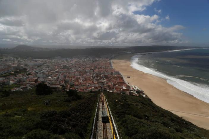 A general view of Nazare from a small village of Sitio