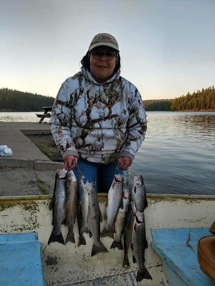 Kimberley Chavez Lopez Byrd loved to fish and hunt, her husband said.