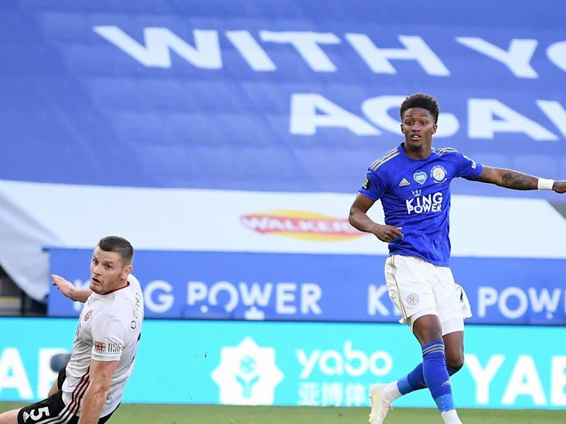 Demarai Gray doubles Leicester's lead over Sheffield United: Getty Images