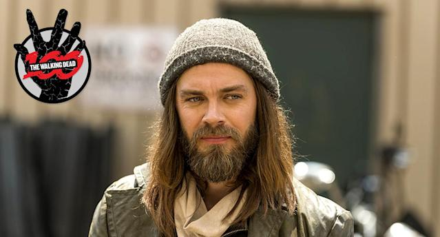 Tom Payne as Jesus in <em>The Walking Dead.</em> (Photo: AMC)