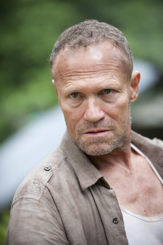 "Merle Dixon (Michael Rooker) in ""The Walking Dead"" episode, ""Walk With Me."""