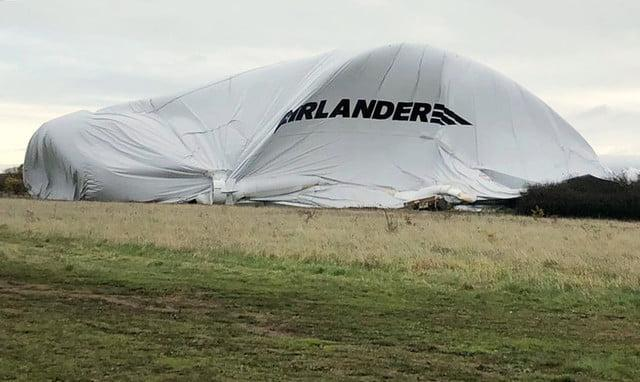 worlds largest aircraft tears itself apart airlander 10