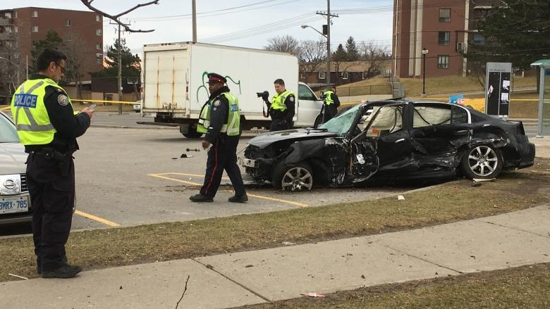 SIU says police tried to stop car that collided with taxi in Scarborough