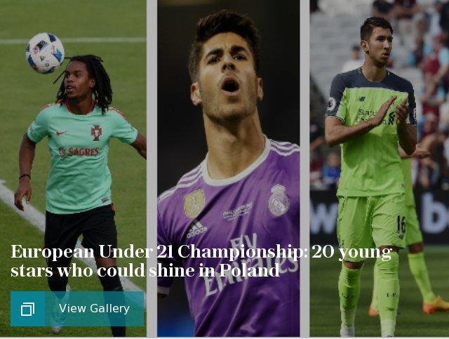 European Under 21 Championship: 20 young stars who could shine in Poland