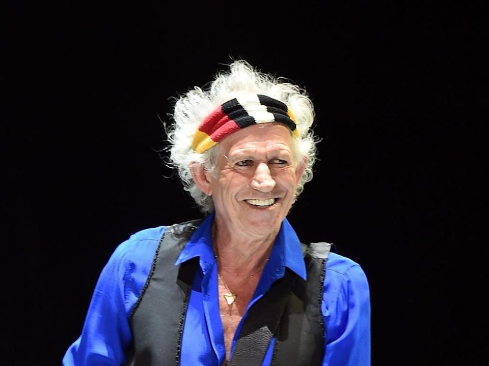 Keith Richards recently spoke out on Rolling Stones' decision to drop 'Brown Sugar' (Getty Images)