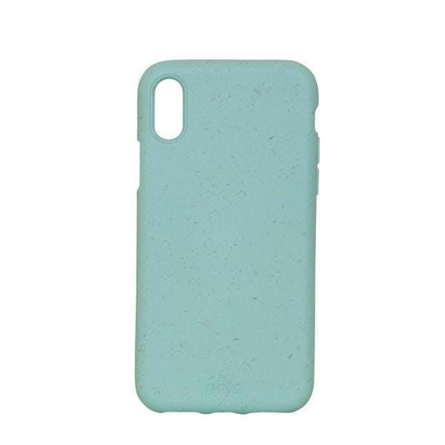 Pela Eco-Friendly iPhone XS Case in Ocean Turquoise