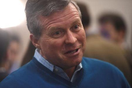 """FILE PHOTO - U.S. Representative Charlie Dent is interviewed during the 2017 """"Congress of Tomorrow"""" Joint Republican Issues Conference in Philadelphia, Pennsylvania, U.S. January 25, 2017.  REUTERS/Mark Makela"""
