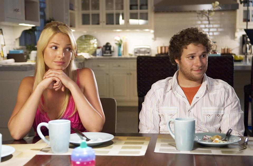 To Heigl, the women in Knocked Up were 'humourless and uptight' (Suzanne Hanover/Universal/Kobal/Shutterstock)
