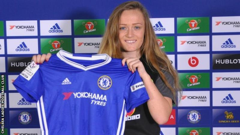Erin Cuthbert is hoping to make waves with Chelsea. (Pic: Chelsea FC)