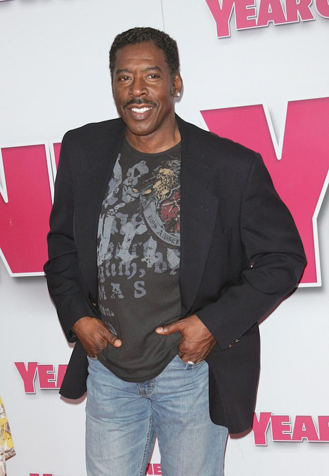 """<a href=""""http://movies.yahoo.com/movie/contributor/1800023537"""">Ernie Hudson</a> at the New York premiere of <a href=""""http://movies.yahoo.com/movie/1809981033/info"""">Year One</a> - 06/15/2009"""