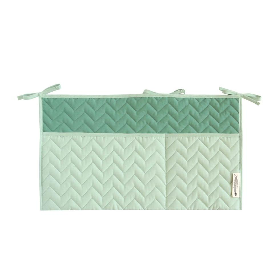 """<h3><a href=""""https://en.smallable.com/sevilla-storage-pouch-almond-green-nobodinoz-78302.html"""" rel=""""nofollow noopener"""" target=""""_blank"""" data-ylk=""""slk:Nobodinoz Sevilla Storage Pouch"""" class=""""link rapid-noclick-resp"""">Nobodinoz Sevilla Storage Pouch</a> </h3><br><br>Instead of another boring gray fabric situation, hang this almond-green pouch from your closet door as a uniquely stylish accessory holder. (The made-in-Spain good also comes in vibrant yellow to pink and blue color options, too.)<br><br><strong>Nobodinoz</strong> Sevilla Storage Pouch In Almond Green, $, available at <a href=""""https://en.smallable.com/sevilla-storage-pouch-almond-green-nobodinoz-78302.html"""" rel=""""nofollow noopener"""" target=""""_blank"""" data-ylk=""""slk:Smallable"""" class=""""link rapid-noclick-resp"""">Smallable</a>"""