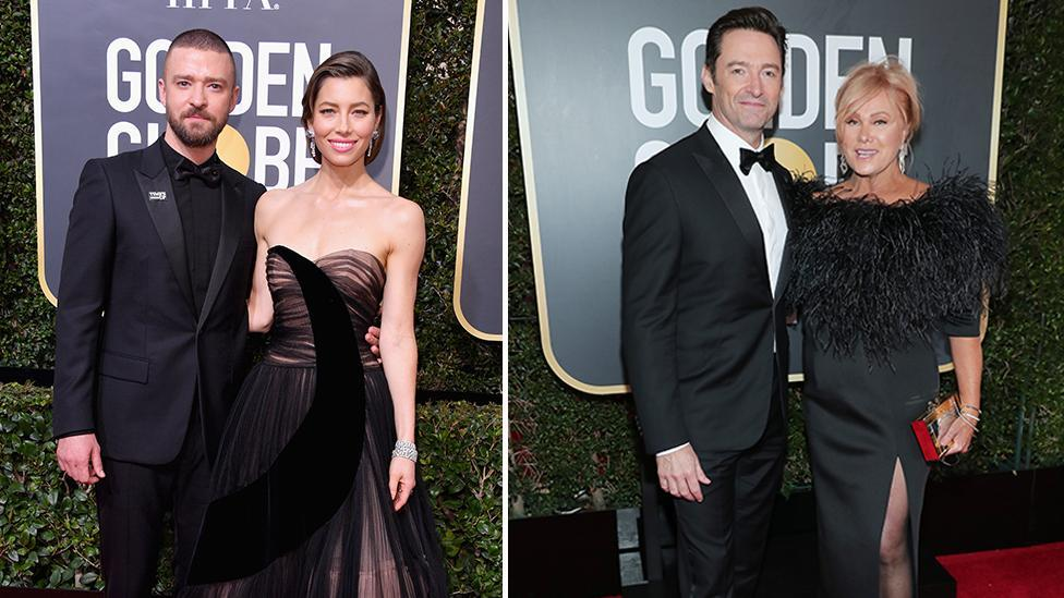<p>Best couples of the 2018 Golden Globes</p>