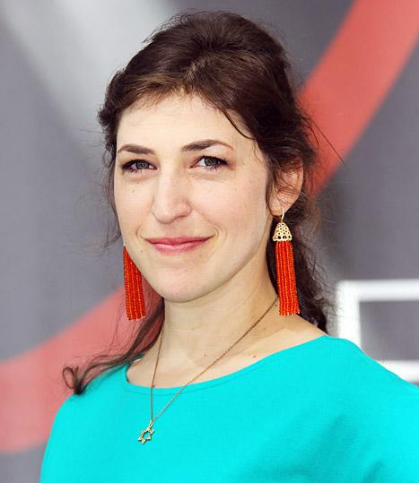 """Mayim Bialik """"Doing Fine"""" After Minor Car Accident"""