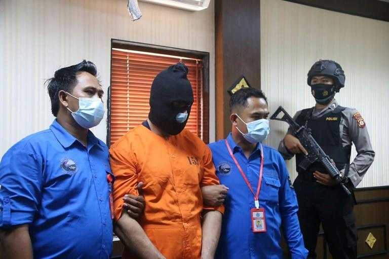 A 30-year-old French national was arrested in Bali, Indonesia for alleged possession of illegal drugs and guns