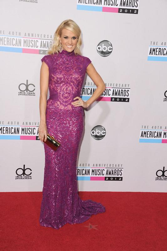 Carrie Underwood 40th Annual American Music Awards Los Angeles, CA