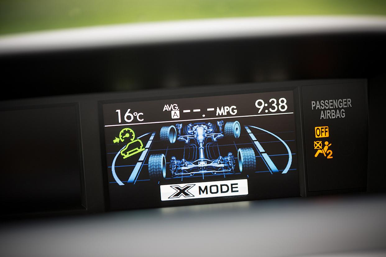 Certain displays show where engine torque is being distributed