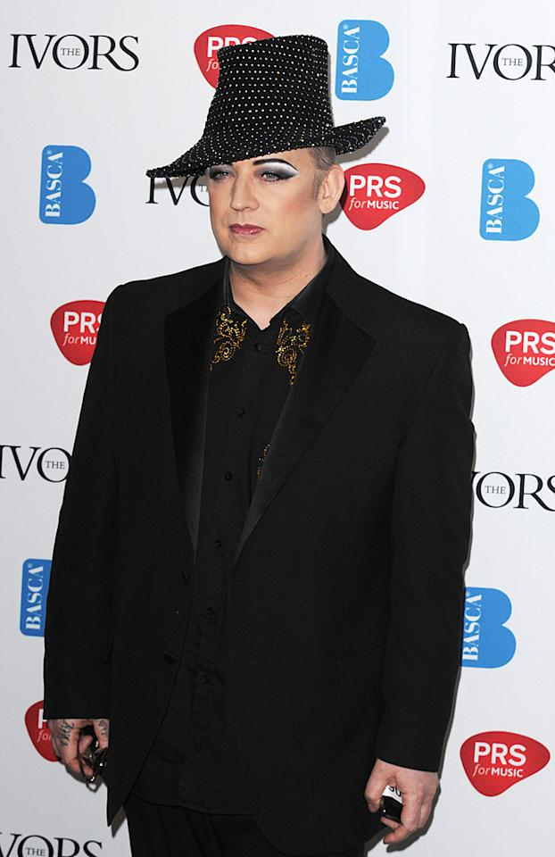 """<p class=""""MsoNormal"""">When asked by <a href=""""http://www.hollywoodreporter.com/news/boy-george-talks-culture-club-160857"""" target=""""new"""">The Hollywood Reporter</a> if he wishes he had been more openly gay earlier in his career, Boy George replied, """"I think you do things in your own time. My family knew I was gay when I was 15, long before I got famous. But it's a very different thing coming out to your family and coming out to the universe. That's a big step. Maybe without me, there wouldn't be Adam Lambert. Without Bowie, there wouldn't be me. Without Quentin Crisp, there wouldn't have been Bowie. So everything is part of a big daisy chain. A lot of people come up to me all the time and say thank you for helping me be who I am. So my thing wasn't just about sexuality. It was about anyone who felt different; anyone who felt out of place. Being gay was one part of it.""""</p>"""