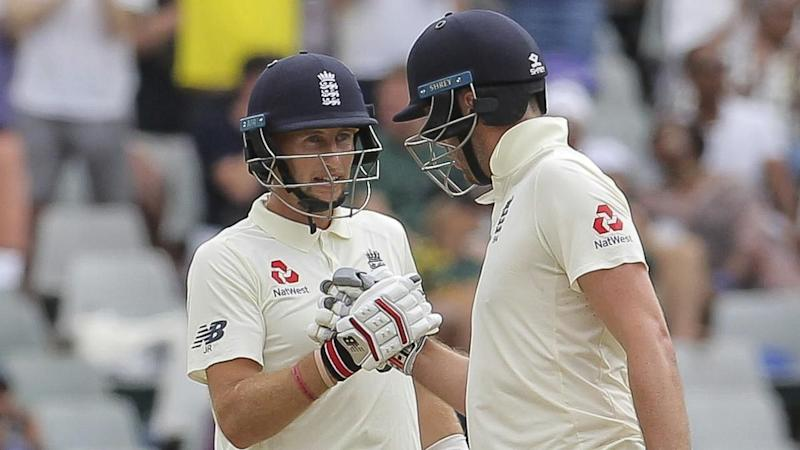 Joe Root and Dom Sibley, pictured here in action against South Africa.