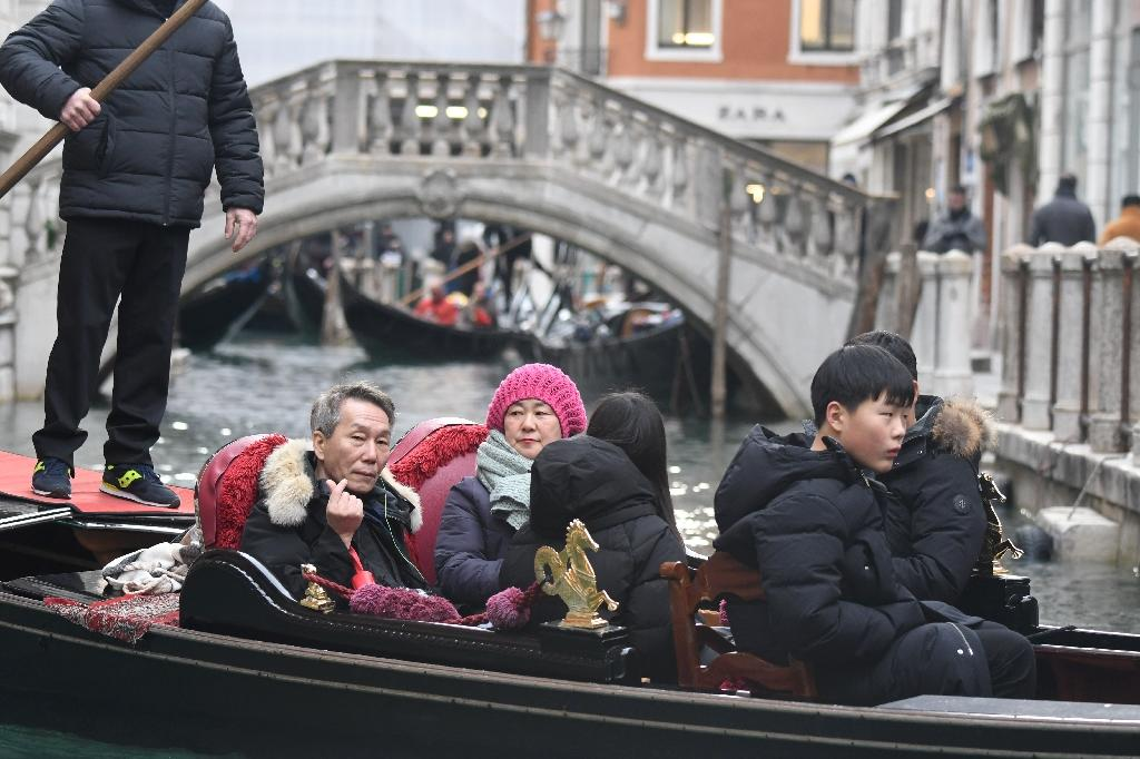 Italy is the third most desirable place to visit for Chinese tourists, after France and Germany (AFP Photo/Andrea PATTARO)