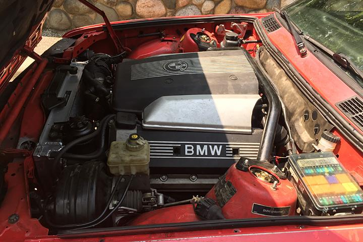This 91 Bmw 318is Finally Has The V8 It Always Wanted