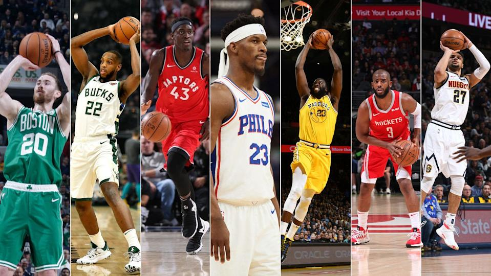 Whichever one of these guys plays best in the playoffs could determine the NBA champion. (Getty Images)