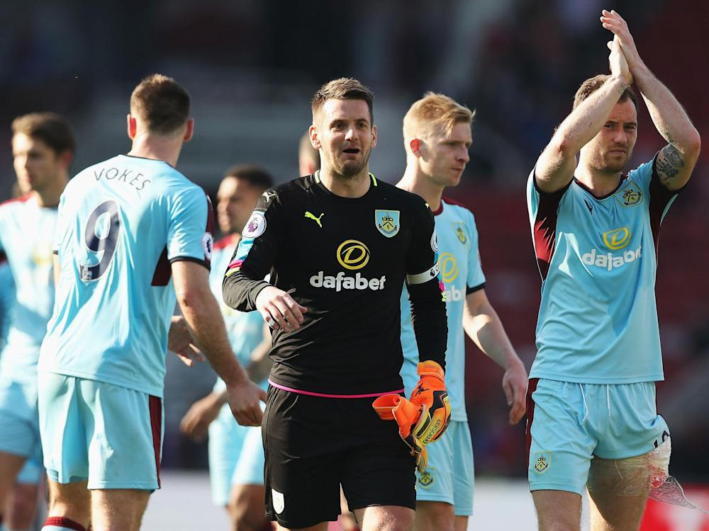 Burnley look all but safe after an important away point: Getty