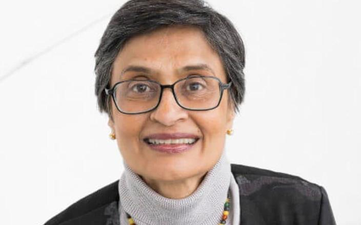 Nandini Shetty, 64, is head of bacteriology at Public Health England, having worked with the quango in various medical roles since 1993. She started her medical training in India before completing it in England, and is also a deputy director of a World Health Organisation scheme in Geneva, focusing on infections