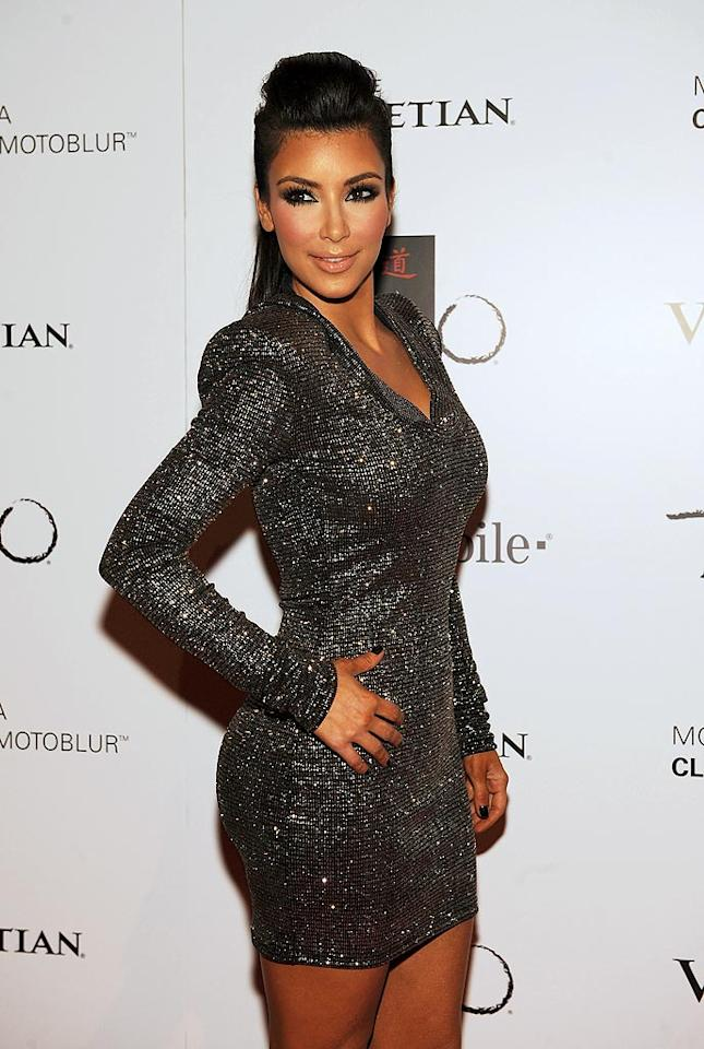 "Reality TV star Kim Kardashian is always smokin' hot, but sometimes she actually looks like she's been smoldering in the sun ... for days. Time to take it easy on the Kardashian Glamour Tan, Kim! Denise Truscello/<a href=""http://www.wireimage.com"" target=""new"">WireImage.com</a> - October 16, 2009"
