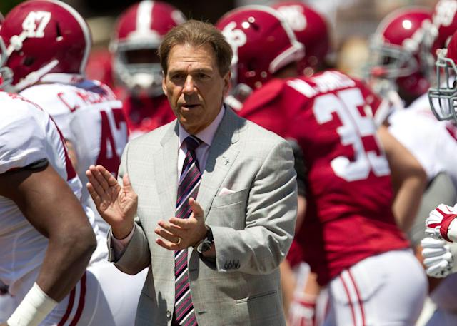 According to Nick Saban, there's not much support for a nine-game SEC schedule
