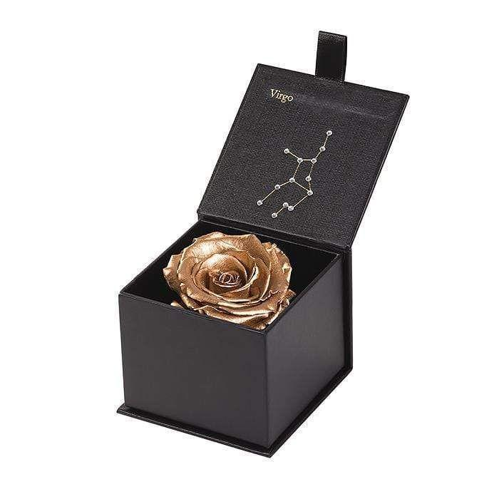 """<p><strong>Eternal Roses</strong></p><p>eternalroses.com</p><p><strong>$32.90</strong></p><p><a href=""""https://eternalroses.com/products/new-astor-eternal-rose-gift-box-virgo?variant=29582625341507"""" rel=""""nofollow noopener"""" target=""""_blank"""" data-ylk=""""slk:Shop Now"""" class=""""link rapid-noclick-resp"""">Shop Now</a></p><p>This little beauty will sparkle for up to three years – <em>much </em>better than a $$$ bouquet that dies in a week.</p>"""
