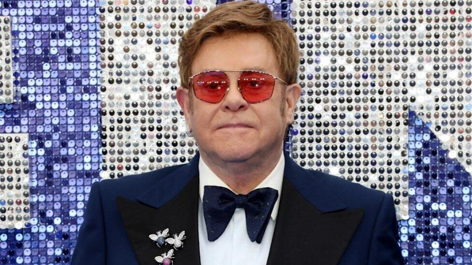 Elton and his husband David Furnish signed on as producers to the already-acclaimed flick. Photo: Getty Images