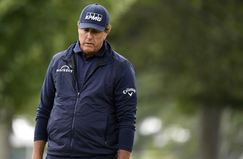 Mickelson disappointed as Grand Slam bid falls short again