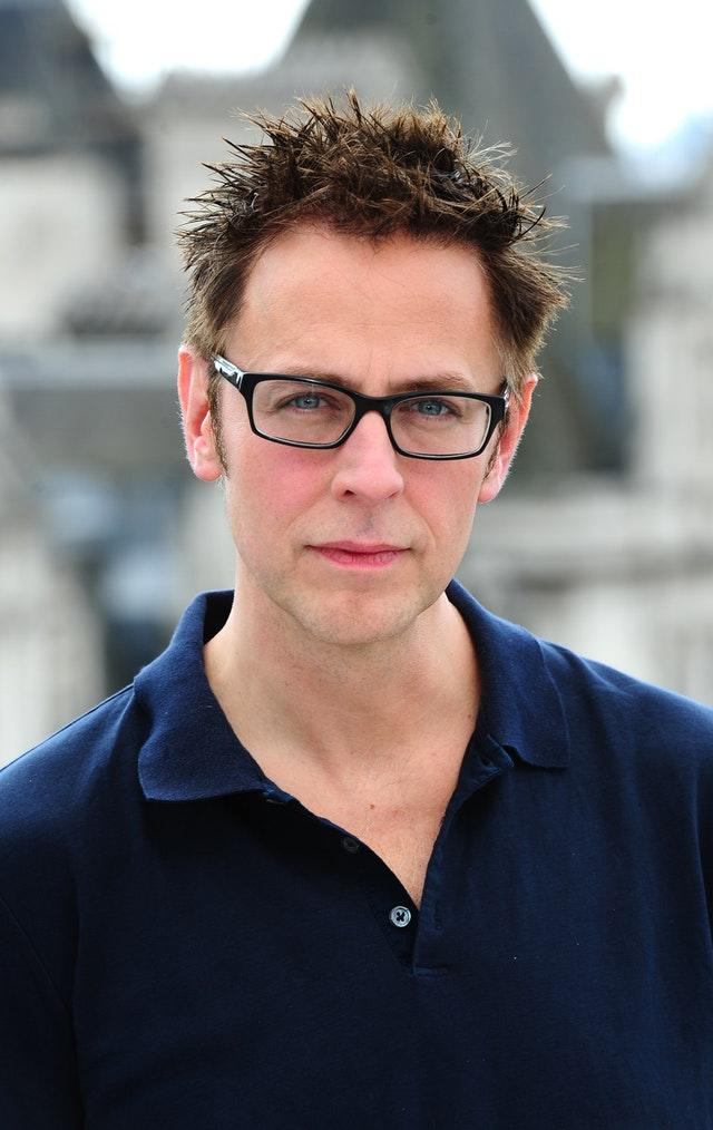 James Gunn at a photocall