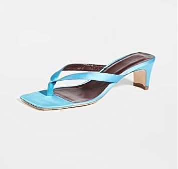 "<p>Wear these satin beauties with denim or your favorite white dress.</p> <p><a href=""https://www.popsugar.com/buy/Staud-Audrey-Sandals-573650?p_name=Staud%20Audrey%20Sandals&retailer=shopbop.com&pid=573650&price=265&evar1=fab%3Aus&evar9=47446893&evar98=https%3A%2F%2Fwww.popsugar.com%2Ffashion%2Fphoto-gallery%2F47446893%2Fimage%2F47463324%2FStaud-Audrey-Sandals&list1=sandals%2Cshoes%2Ctrends%2Csummer%2Cfashion%20shopping%2Cstaud&prop13=api&pdata=1"" class=""link rapid-noclick-resp"" rel=""nofollow noopener"" target=""_blank"" data-ylk=""slk:Staud Audrey Sandals"">Staud Audrey Sandals</a> ($265)</p>"