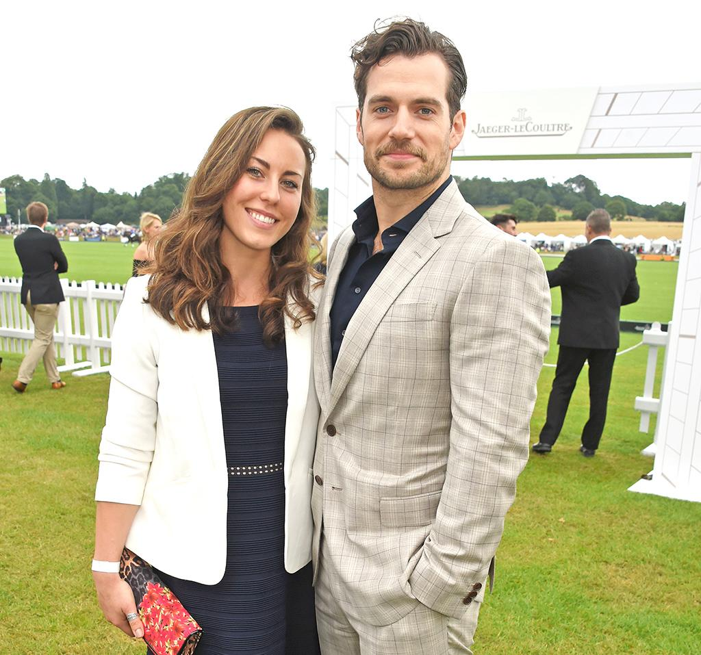Lucy Cork and Henry Cavill attend the Jaeger-LeCoultre Gold Cup Polo Final in Midhurst, England, in July. (Photo: Dave M. Benett/Dave Benett/Getty Images for Jaeger-LeCoultre)