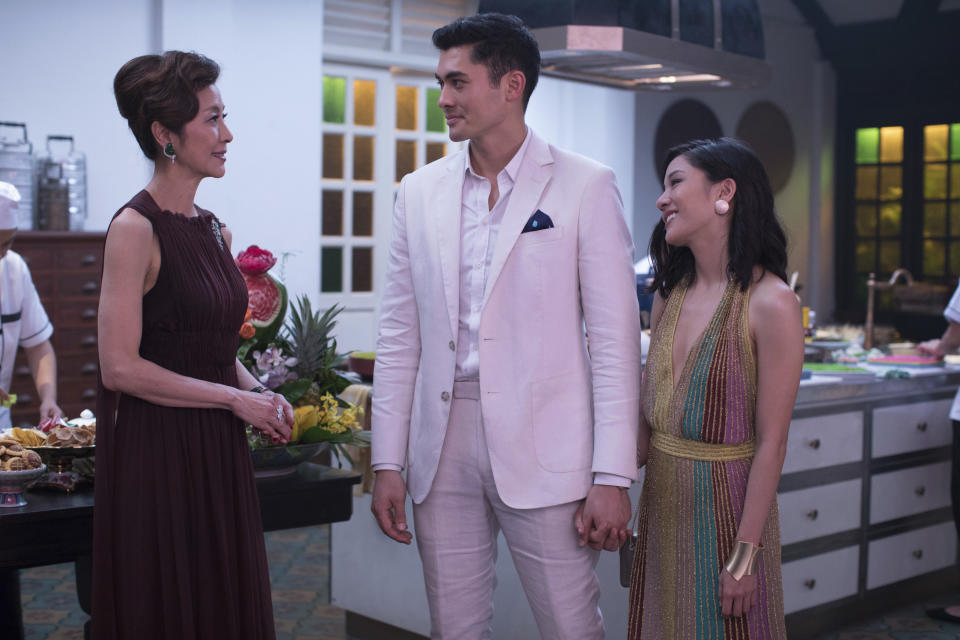 Henry GOlding debuted in Crazy Rich Asians