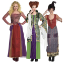 """<p><strong>Sanderson</strong></p><p>partycity.com</p><p><strong>$49.99</strong></p><p><a href=""""https://www.partycity.com/sanderson-sisters-group-costumes-for-adults---disney-hocus-pocus-G889746.html"""" rel=""""nofollow noopener"""" target=""""_blank"""" data-ylk=""""slk:BUY IT HERE"""" class=""""link rapid-noclick-resp"""">BUY IT HERE</a></p><p>If you want to pull off a classic trio, it doesn't get more classic than the Sanderson Sisters (especially if you're a big-time fan of <em>Hocus Pocus</em>). This idea is for the dedicated party-goers, so prepare to go all-out.</p>"""