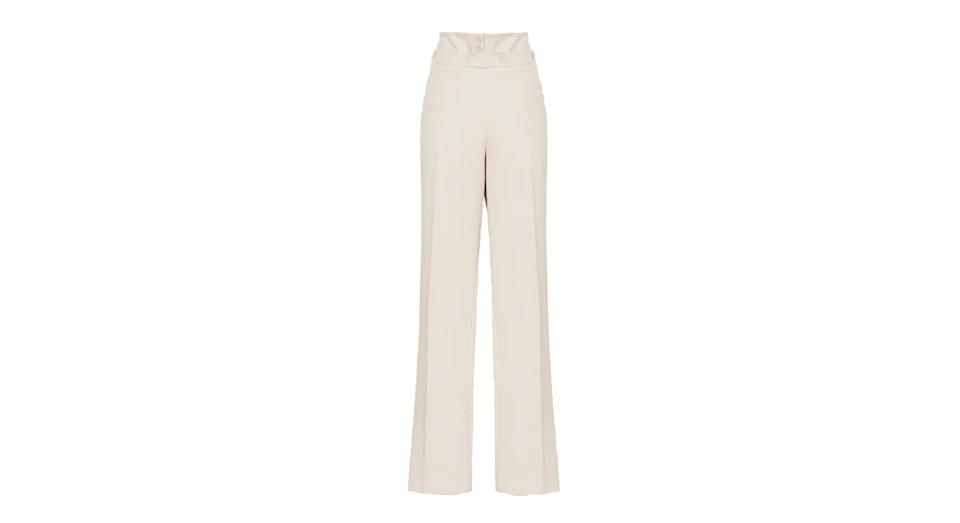 OTIS WIDE LEG TAILORED TROUSERS