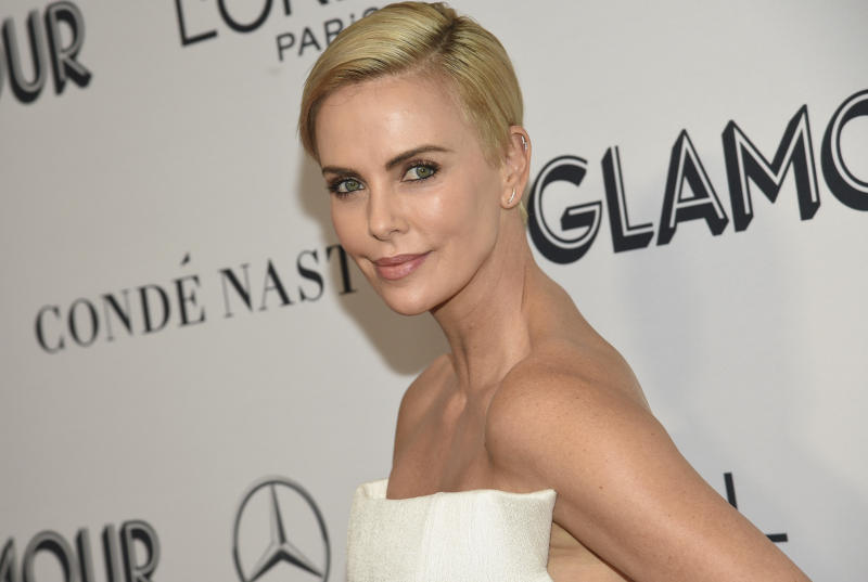 Charlize Theron attends the Glamour Women of the Year Awards at Alice Tully Hall on Monday, Nov. 11, 2019, in New York. (Photo by Evan Agostini/Invision/AP)