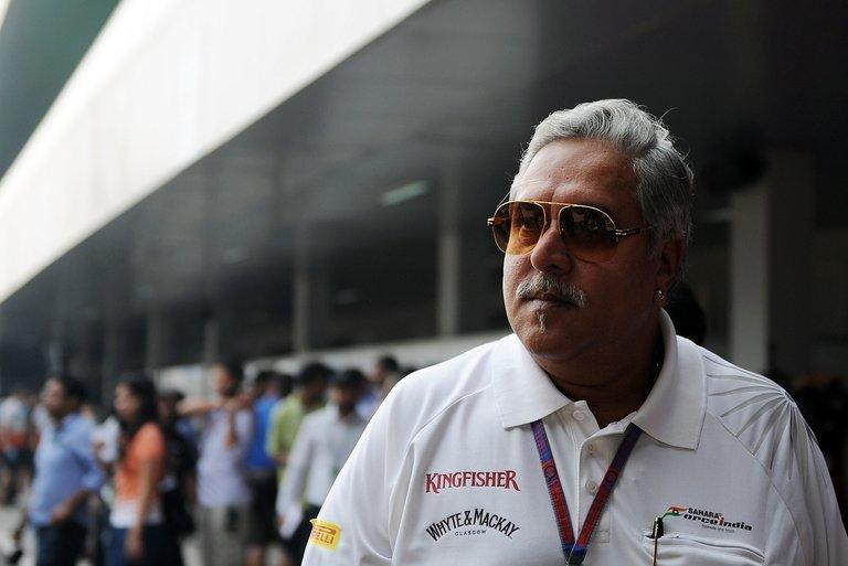 Force India Team Principal and chief executive of India's Kingfisher Airlines Vijay Mallya on October 27, 2012