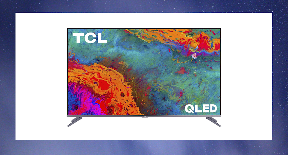 """The TCL 50"""" 5-Series 4K UHD Dolby Vision HDR QLED Roku Smart TVis $100 off right now as part of Amazon Canada's Cyber Monday Sale."""