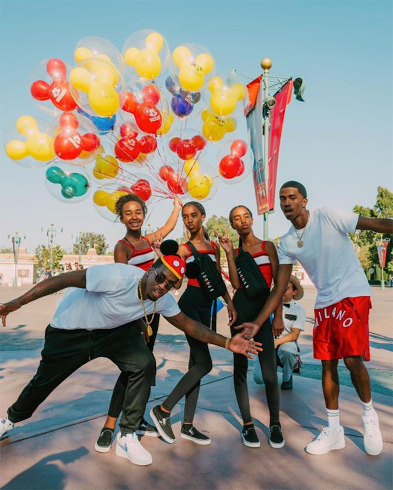 Diddy Shares Sweet Family Photos from Daughter Chance's 13th Birthday at Disneyland: 'I Love You'