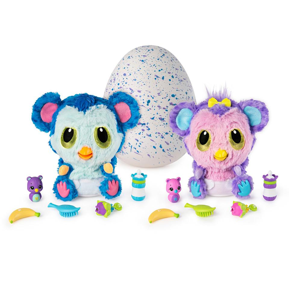 "<p>These adorable Monkiwi HatchiBabies are exclusive to Target, so right now is the best time to score a deal on the toy for the Hatchimal-loving kid in your life.<br /><strong><a rel=""nofollow"" href=""https://fave.co/2AxMuMv"">Shop it</a>:</strong> $40 (was $60), <a rel=""nofollow"" href=""https://fave.co/2AxMuMv"">target.com</a> </p>"