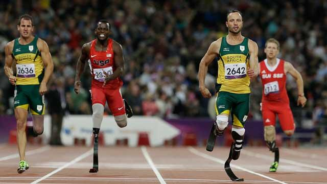 'Blade Runner' Oscar Pistorius Loses Race and Says Winner Cheated