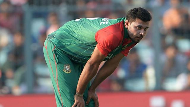 Bangladesh will be without Mashrafe Mortaza for their next one-day international after the ICC banned the captain for over-rate breaches.