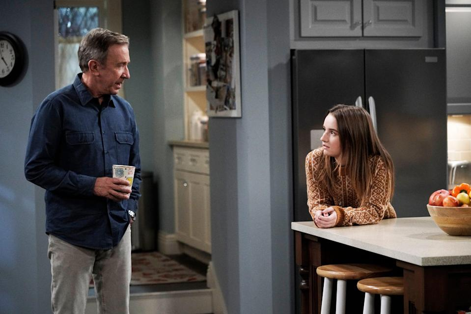 """Tim Allen and Kaitlyn Dever in """"Last Man Standing,"""" which had a nine-season run on ABC and Fox but calls it quits this spring."""